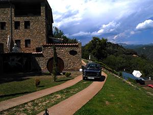 Hotel in de Garrotxa met Seat en uitzicht