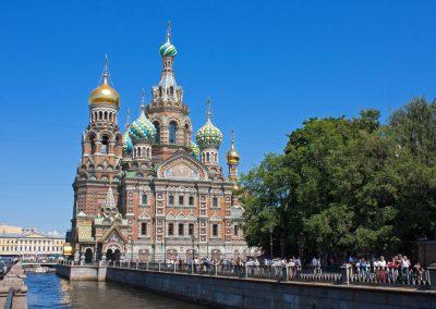 St Petersburg Kerk van de Verlosser op het Bloed. Credits_A.-Cassidy