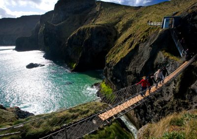 Carrick a Rede Rope Bridge. Credits TourismIreland
