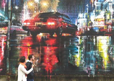 Belfast, Street Art. Credits Tourism Ireland