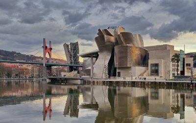 Fietsen door Bilbao