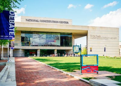 National Constitution Center. photo by K. Huff for PHLCVB