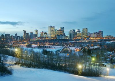 AdventureWintersport Canada Skyline-Edmonton