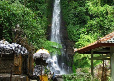 Git Git waterval in het noorden van Bali