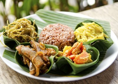 Lokale rijsttafel