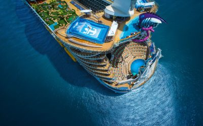 Varen op het grootste cruiseschip ter wereld