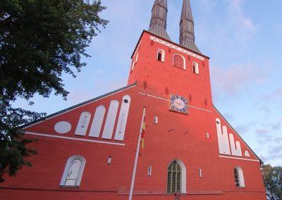 Symbool van Vaxjo de rode domkerk - foto Katja Staring (2)