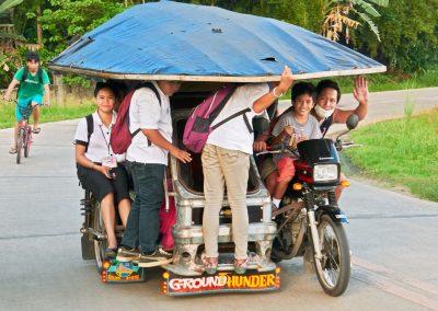 Voorkeur - Typisch Filipijnse tricycle